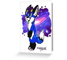 fox draenard furry Greeting Card