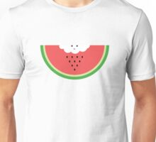 Cloud raining / eating watermelon Unisex T-Shirt