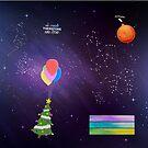 GISHWHES Galaxy by ElocinMuse