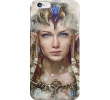 Epic Princess Zelda Painting Portrait iPhone Case/Skin