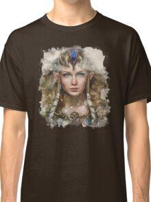 Epic Princess Zelda Painting Portrait Classic T-Shirt