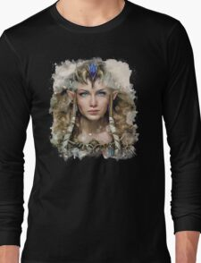 Epic Princess Zelda Painting Portrait Long Sleeve T-Shirt