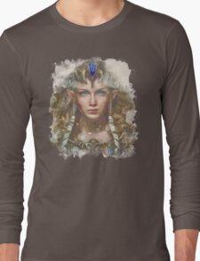Epic Princess Zelda Painting Portrait Long Sleeve T-Shirt