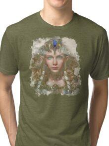 Epic Princess Zelda Painting Portrait Tri-blend T-Shirt