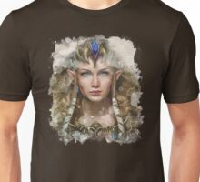 Epic Princess Zelda Painting Portrait Unisex T-Shirt