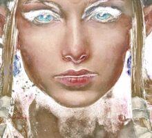 Epic Princess Zelda Painting Portrait Sticker