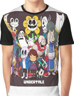 Undertale Family Photo <3 Graphic T-Shirt