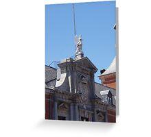 Madrid- Building 3 Greeting Card