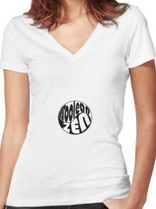 Boolean Zen Women's Fitted V-Neck T-Shirt