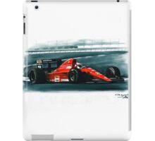 1991 Ferrari F1-91B iPad Case/Skin
