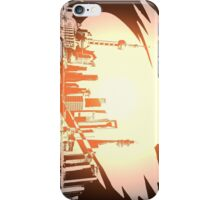 Stylish Street Shanghai, Pudong iPhone Case/Skin