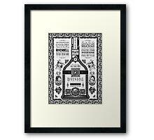 Lord of the Rings Rivendell Wine Vintage Geek Art Framed Print