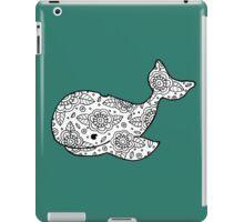 whale ii iPad Case/Skin