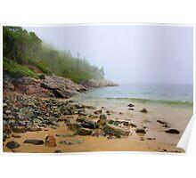 Sand Beach, Acadia Poster