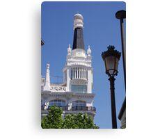 Madrid- Building 4 Canvas Print
