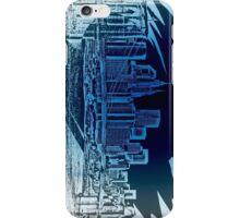 Stylish Street NYC,  BKLYN Bridge (blue) iPhone Case/Skin