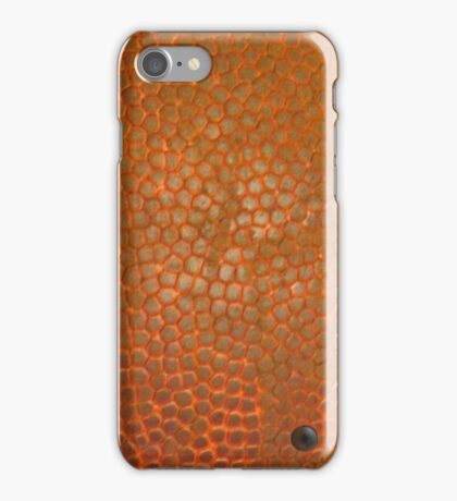 BASKETBALL (Textures) iPhone Case/Skin