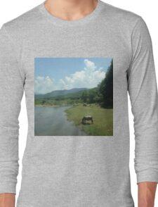 Vietnam Landscape Long Sleeve T-Shirt