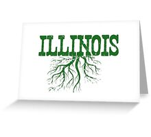 Illinois Roots Greeting Card