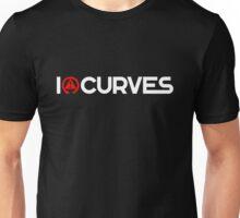 I love curves (2) Unisex T-Shirt