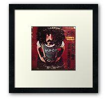 Zappa Lumpy Gravy Framed Print