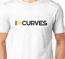 I love curves (3) Unisex T-Shirt