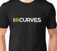 I love curves (4) Unisex T-Shirt
