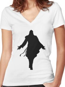 Altair! Women's Fitted V-Neck T-Shirt