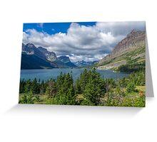 Saint Mary Lake Greeting Card