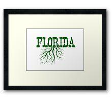 Florida Roots Framed Print