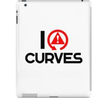 I love curves (5) iPad Case/Skin