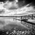 Lough Fea Pier by Kieran Donnelly