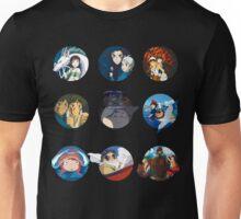 Studio ghibli movies (no filter) Unisex T-Shirt