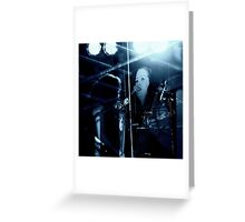 Stage presence Greeting Card
