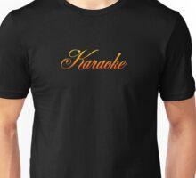 Vintage Colorful Karaoke Unisex T-Shirt