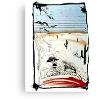Fear and Loathing in LV Canvas Print
