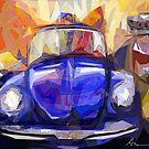 Volkswagen Digital Version by Alma Lee