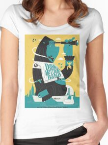 DMB, Nikon At Jones Beach Theater, Wantago, NY Women's Fitted Scoop T-Shirt