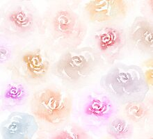 Watercolor Roses by Angela Sun