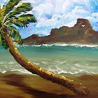 Palm Before The Storm by WhiteDove Studio kj gordon