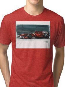 "2010 Ferrari F10 ""800GP"" Tri-blend T-Shirt"