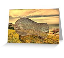 2016 Sculpture by the Sea 08 Greeting Card