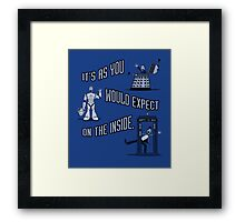 Reality is Cool Framed Print