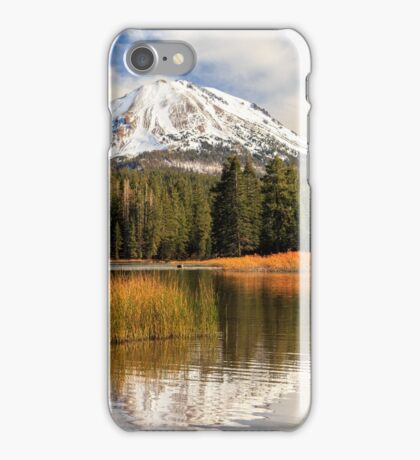 Autumn At Mount Lassen iPhone Case/Skin