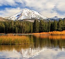 Autumn At Mount Lassen by James Eddy