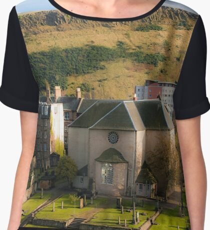 Canongate Kirk (artistic version) Chiffon Top
