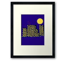The City is Still Alive Framed Print