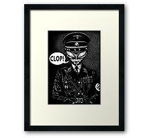 Clop! Framed Print