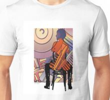 Figure and Harley engine Unisex T-Shirt