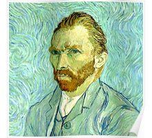 Vincent van Gogh Self Portrait 1889 Poster